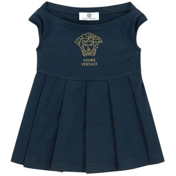 Versace Girls Navy Top