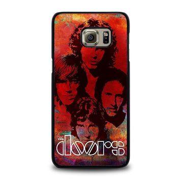 the doors samsung galaxy s6 edge plus case cover  number 1