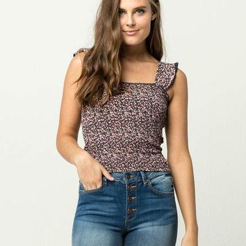 BILLABONG On Debut Womens Smocked Top