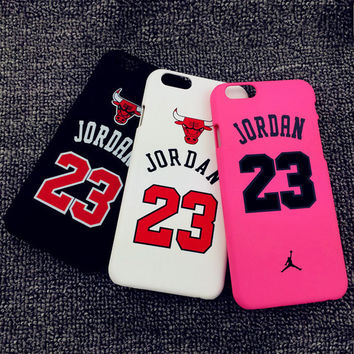 NBA Michael Jordan 23 Cases for iPhone 5 5s 6 6s 6Plus 6sPlus