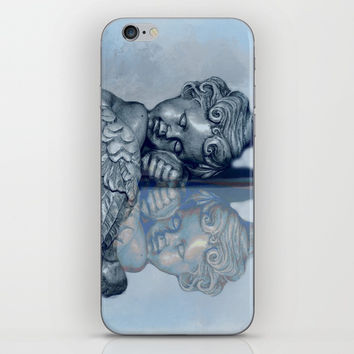 Sleeping Angel iPhone & iPod Skin by Theresa Campbell D'August Art