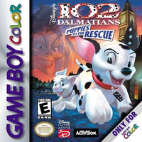 102 Dalmatians Puppies to the Rescue - GameBoy Color (Game Only)