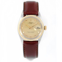 Rolex Date automatic-self-wind mens Watch 1505 (Certified Pre-owned)