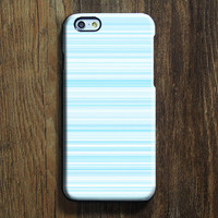 Pastel Blue Stripe Lines iPhone 6s Case iPhone 6s Plus Case iPhone 6 Cover iPhone 5S 5 iPhone 5C Samsung Galaxy S6 Edge Galaxy s6 s5 s4 Galaxy Note 5 Note 4 Case 132