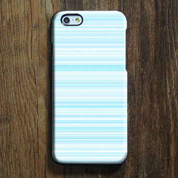 Pastel Blue Stripe Lines iPhone 6s Case iPhone 6s Plus Case iPhone 6 Cover iPhone 5S 5 iPhone 5C Samsung Galaxy S6 Edge Galaxy s6 s5 s4 Galaxy Note 5Note 4 Case 132