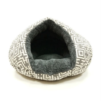 Burger Bed Modern Grey by DoGo