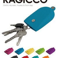 Auth. KAGICCO Silicone Unique Key Case/Holder - POCHI series p+g design
