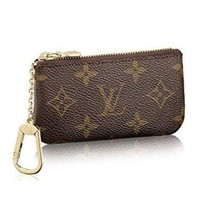 LV Louis Vuitton Fashion Key Wallet Case Cover