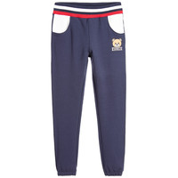 Moschino Boys Teddybear Logo Navy Blue Sweatpants