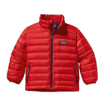 Patagonia Baby Down Sweater Jacket | Red Delicious