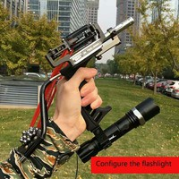 Shooting Arrow Sling Shot Slingshot catapult Hunting Powerful Sling Shot Bow Stainless steel Outdoor Athletic Bow Crossbow Bolt