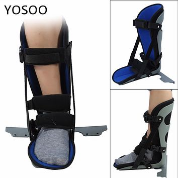 Ankle Brace Support Foot Drop Splint Guard Sprain Orthosis Fractures