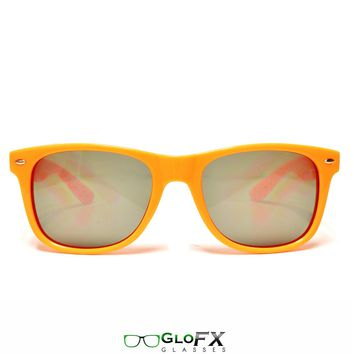 GloFX Ultimate Diffraction Glasses and Orange Tinted