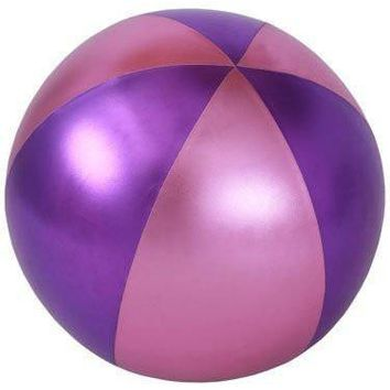 Y'all Ball Inflatable Fun Ball- Pink/Purple
