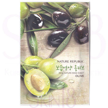 Nature Republic Real Nature Olive Mask Sheet