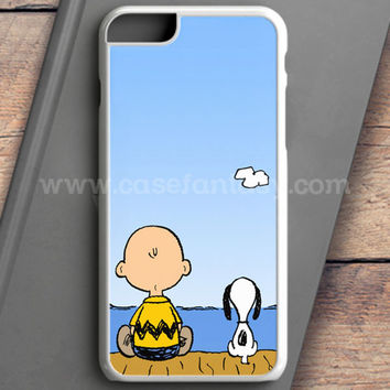 Snoopy And Charlie Brown iPhone 6 Plus Case | casefantasy