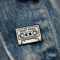 Rap Music Enamel Pin