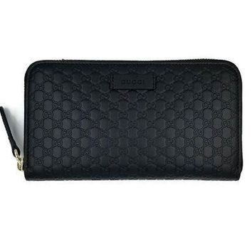 DCCK2 Gucci Guccissima Leather Continental Large Clutch Wallet