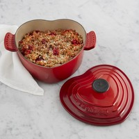 Le Creuset Cast-Iron Heart Shaped Dutch Oven