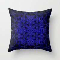 Electric Throw Pillow by 2sweet4words