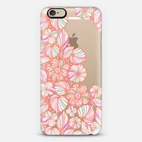 sweet coral flowers iPhone 6 case by Julia Grifol Diseñadora Modas-grafica | Casetify