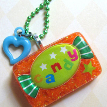 I want Candy necklace by Stargazer02 on Etsy