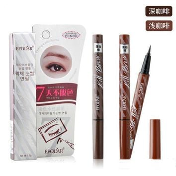 7 days do not remove eyebrow pencil beauty makeup brand waterproof eyebrow enhancer palette, Korean cosmetic eye makeup line