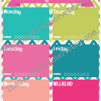 PRINTABLE Cleaning Schedule Hydrate & To Do List Dashboard Insert for Erin Condren/Plum Paper Planner