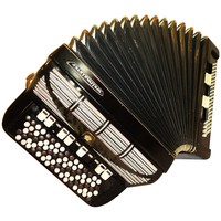 5 Rows German Button Accordion Weltmeister, Bayan, 120 Bass, 16 Registers, 604