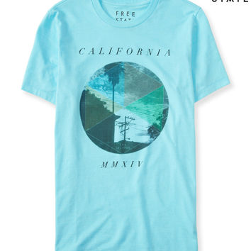 Free State Geo California Graphic T