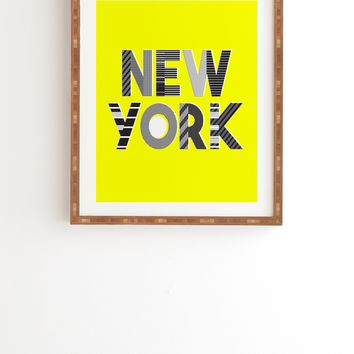 Zoe Wodarz Hot Summer In the City Framed Wall Art