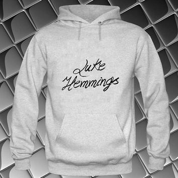 luke hemmings Hoodies Hoodie Sweatshirt Sweater white and beauty variant color Unisex size