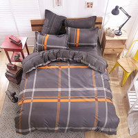 Cotton bedding set I love Paris style Comforter cover set quilt cover/ bed sheet/Pillowcase King Queen Full size no quilt