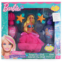 Barbie Fintastic Color Suprise Bath Sets For Childrens