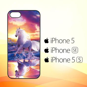 Horses Running Y1681  iPhone 5|5S|SE Case