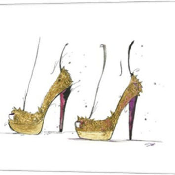 The Golden Heels by Jessica Durrant