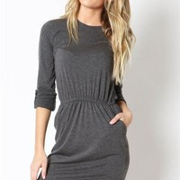 Pon De Replay Casual Knit Dress