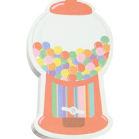 GUMBALL MACHINE NOTEPAD