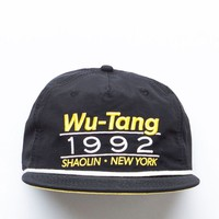 PacSun Wu-Tang Snapback Hat - Mens Backpack - Black/Yellow - One