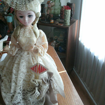 Vintage Artmark Southern Belle Collectible Doll
