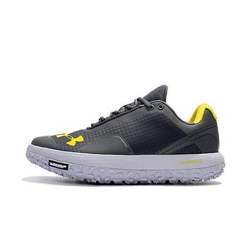 Best Deal Online Under Armour Michelin UA Fat Tire Men Running Shoes Gray Yellow
