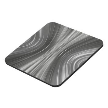Gray Mist Driving Dreams Hard Plastic Coasters