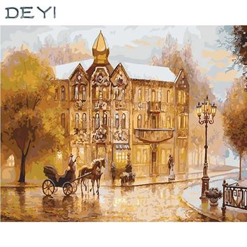 40*50cm Framed Mirrors Wall Arts Phantom Of The Opera Decorative Linen Canvas Hand Oil Painting For Living Room 4050467