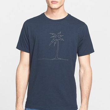 Men's rag & bone Palm Print Graphic T-Shirt ,