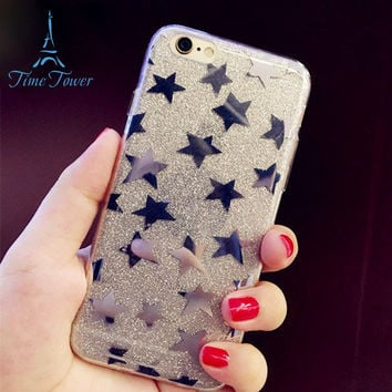 Fantasy Star Series Character Patterned Soft tpu Phone Case Cover for iphone 7 case 4.7 inch back phone cases