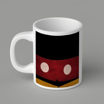 Gift Mugs | Hipster Mickey Mouse Ceramic Coffee Mugs