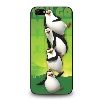 THE PENGUINS OF MADAGASKAR all character iPhone 5 / 5S / SE Case Cover