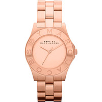 Marc Jacobs Women's Blade MBM3127 Rose Gold-tone Watch