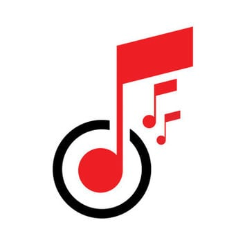 Music Connecting the World Logo Design Vector for Your Future Business