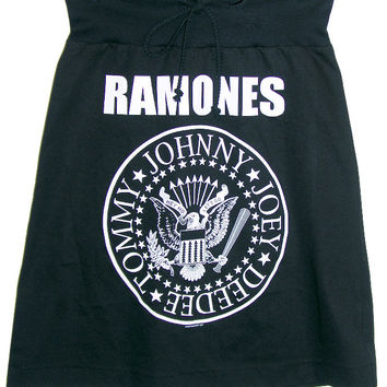 The Ramones Presidential Seal T-Shirt Skirt